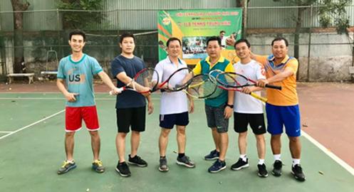 Khoá Học Tennis Theo Nhóm