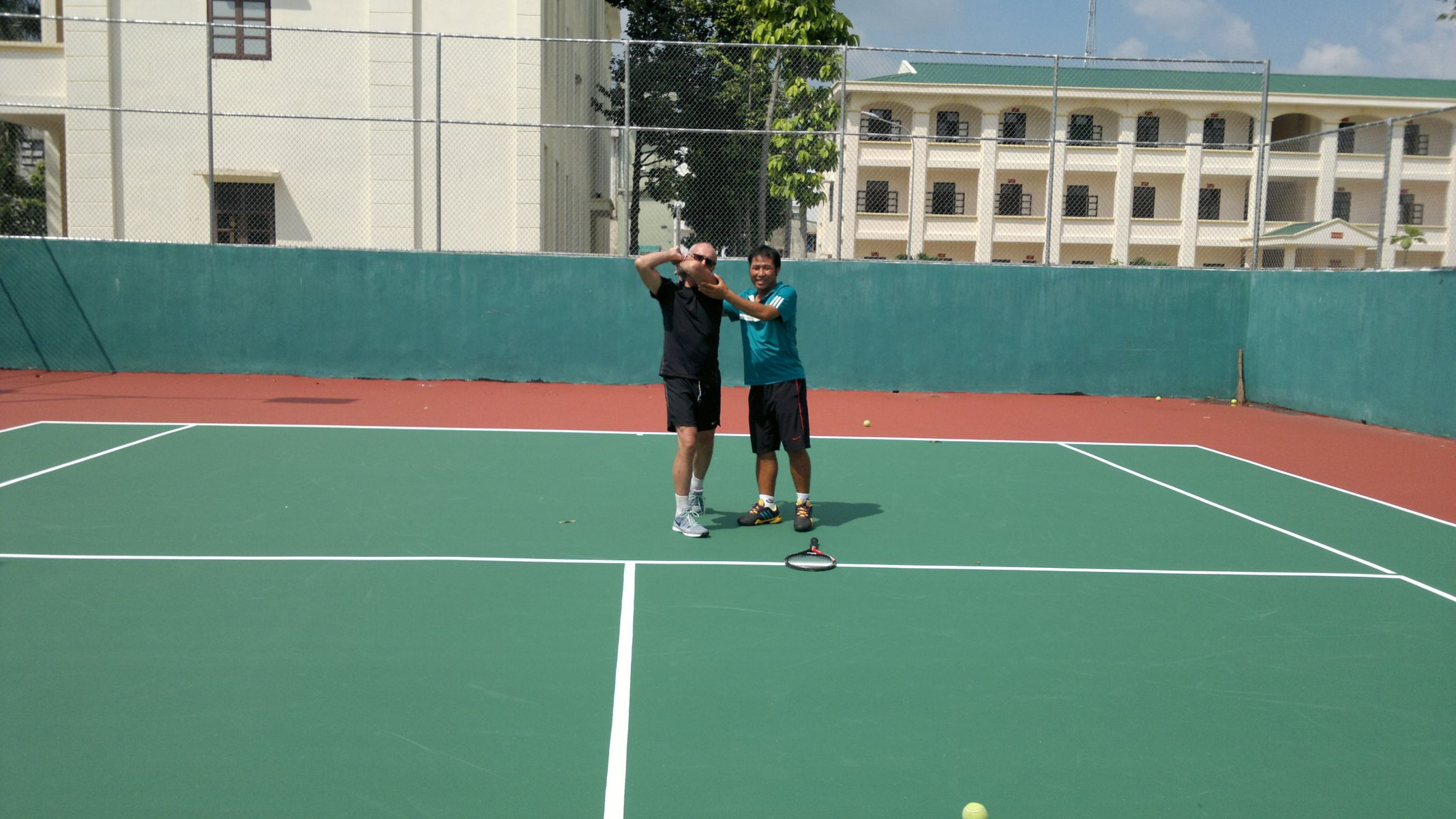 DẠY TENNIS TẠI TPHCM - Học tennis