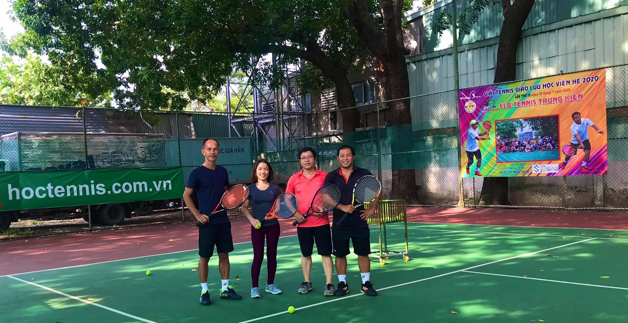 Dạy tennis tại TP HCM chất lượng - Trung Kiên Tennis