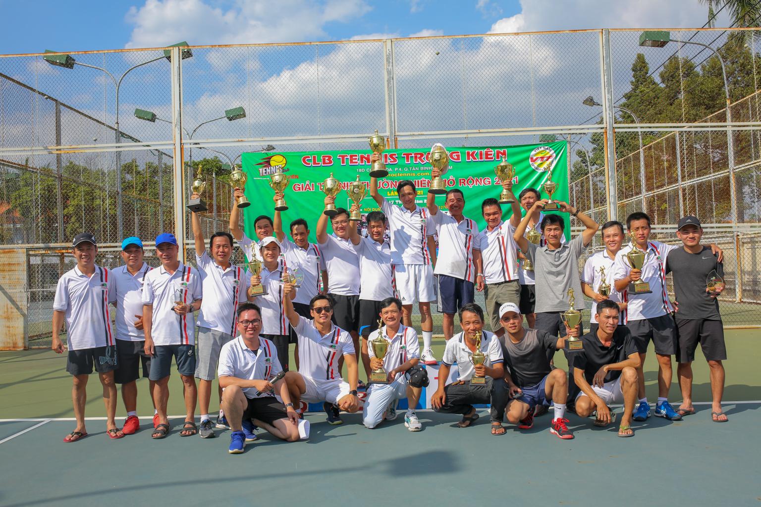 Giải thưởng thường niên mở rộng 2021 - CLB Tennis Trung Kiên