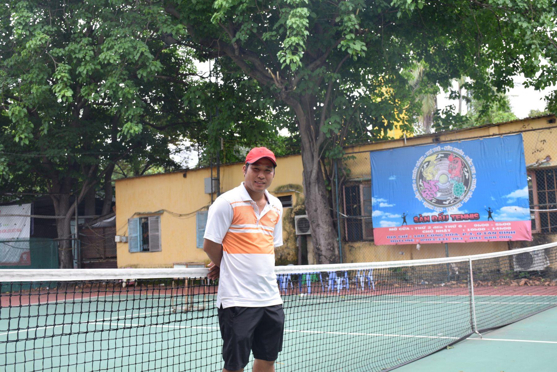 Học tennis tại quận 4 TPHCM