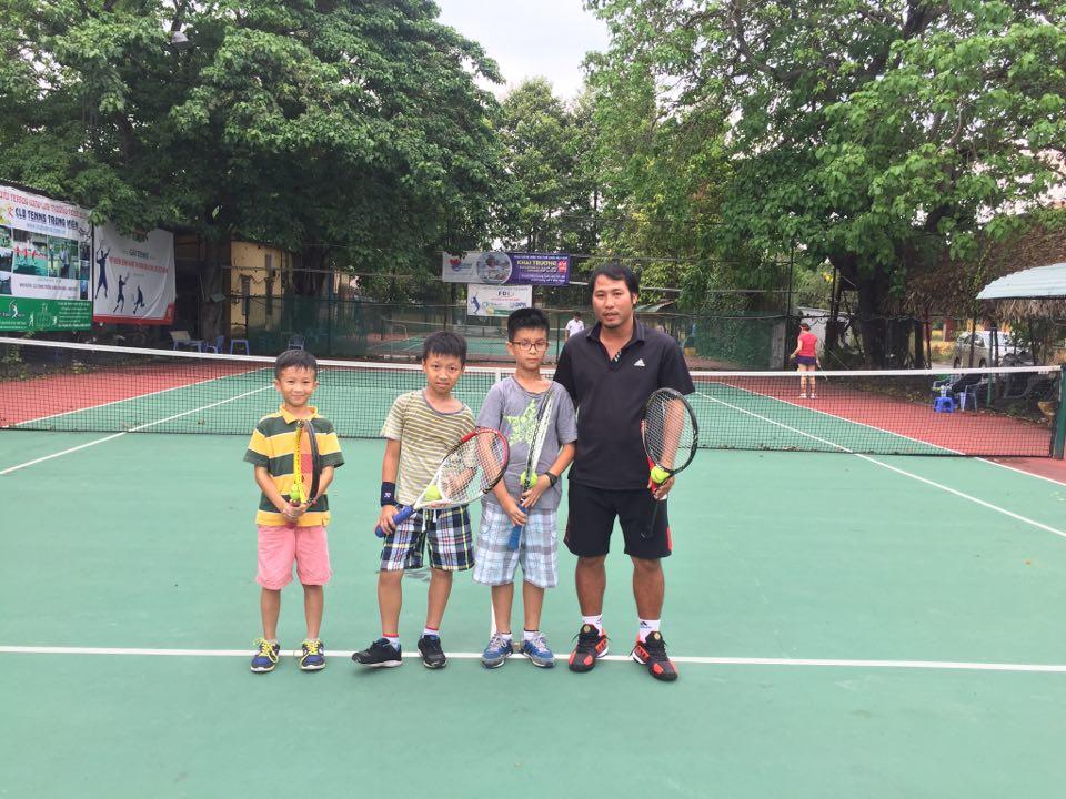 Học tennis tại quận 7 TPHCM