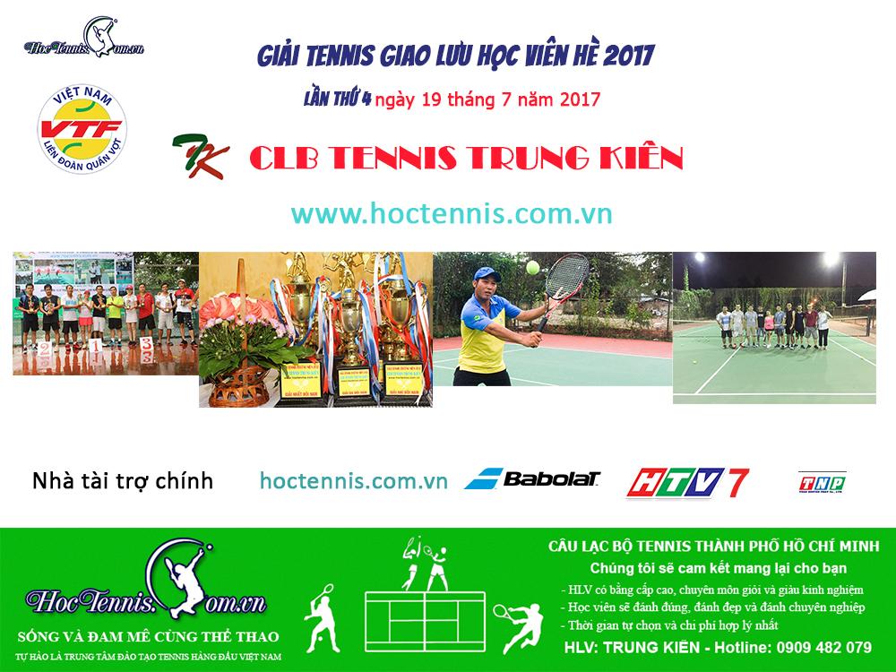 Học tennis tại quận Tân Bình TPHCM