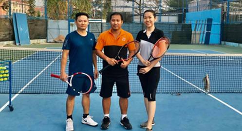 Luật đánh đôi Tennis